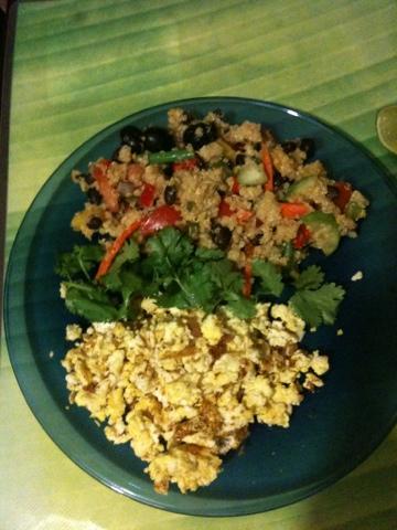 Black Bean Quinoa Salad Recipe