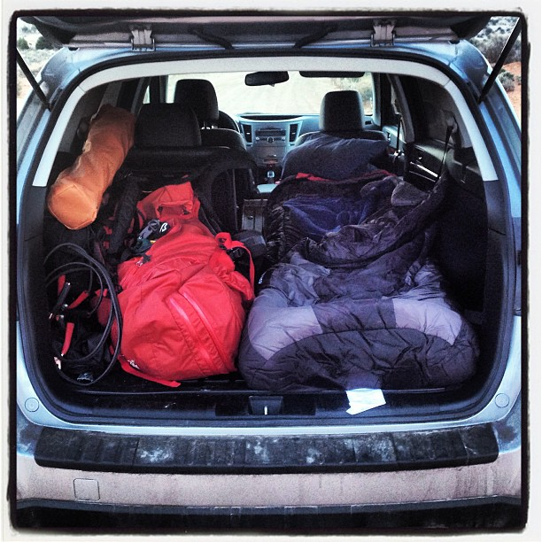 Sleeping in a Subaru Outback | Low Gravity Ascents