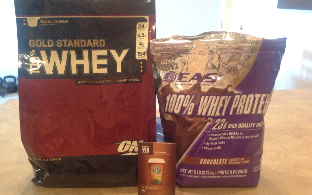 "Iced Coffee ""Mocha Latte"" Protein Shake"
