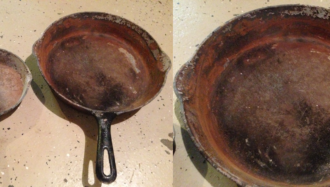 Refurbishing Rusted Cast Iron Cookware