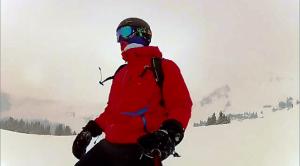 GoScope Snowboarding Selfie