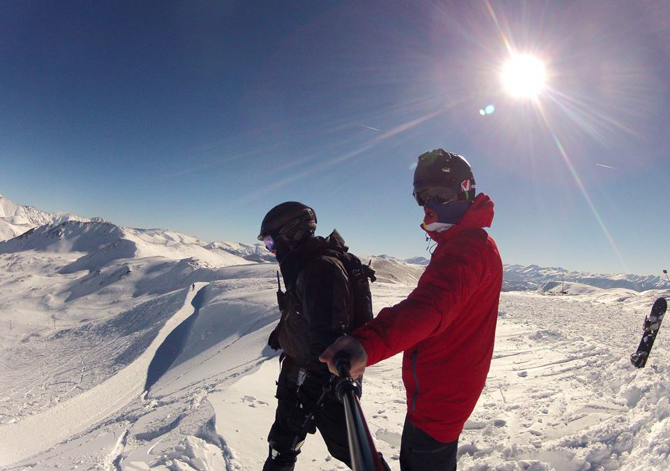 Product Testing Stage Ideas goggles and Cornice Dropping Video