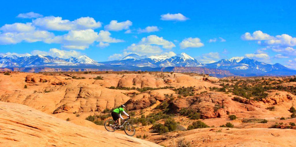 Mountain Biking Slick Rock Trail
