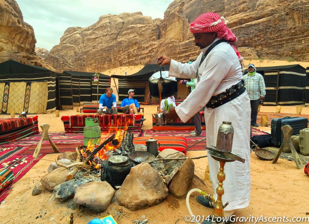 Wadi Rum Bedouin Tea