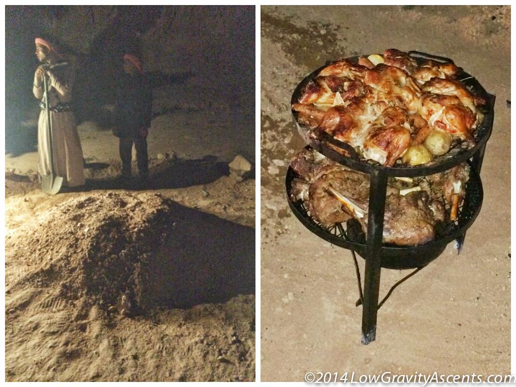 Wadi Rum Bedouin Food
