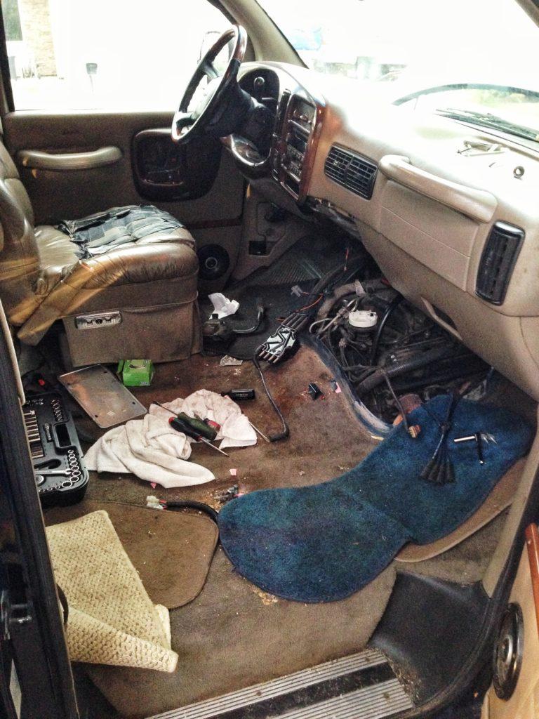 GMC Savana Camper Van