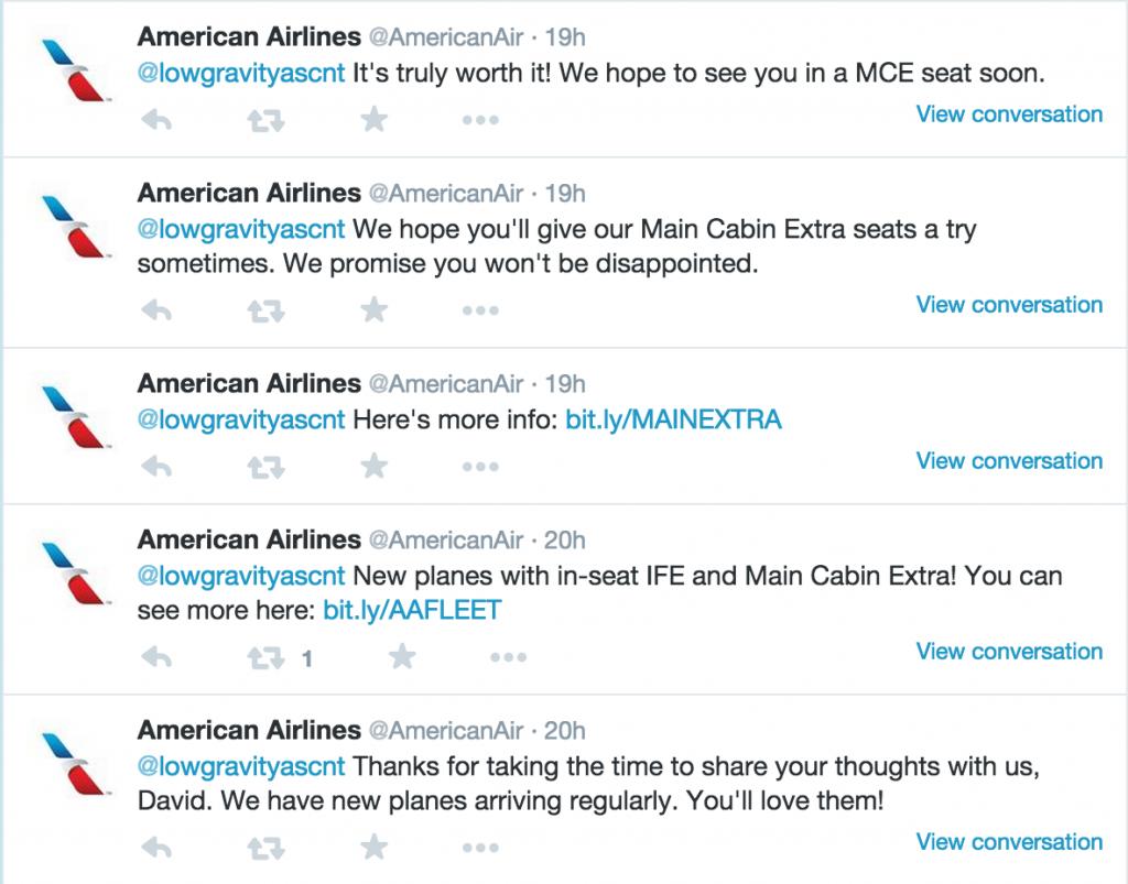 American Airlines Denial