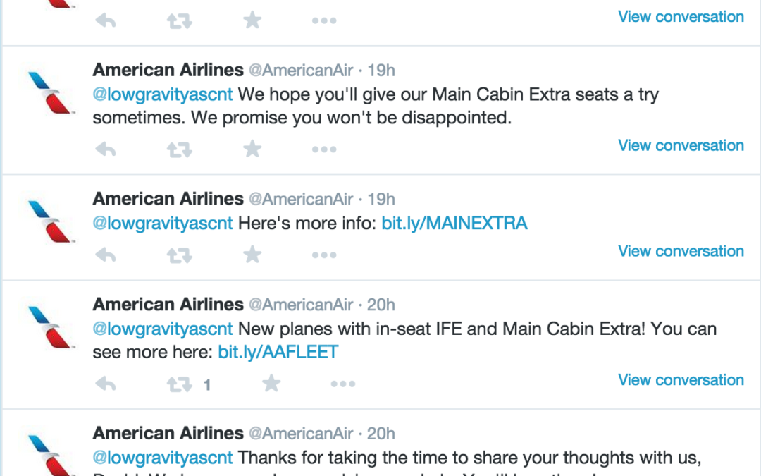 Do Better, American Airlines