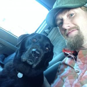 Dog is my van copilot