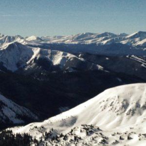 Loveland Pass Mountain Range