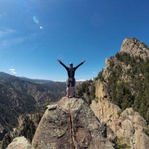 Eldorado Canyon from the top of Rewritten