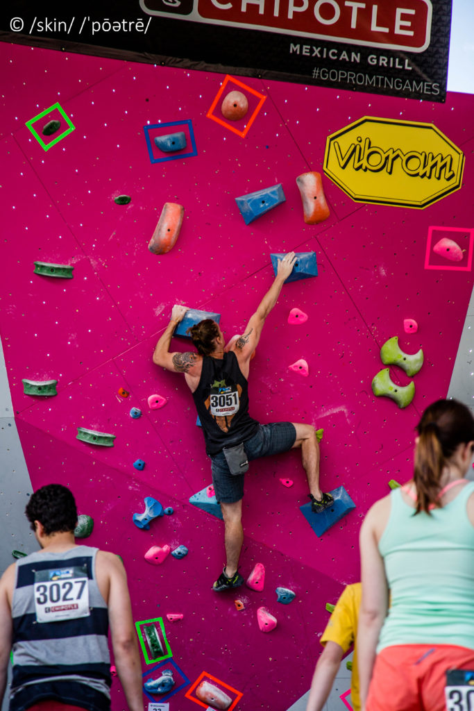 GoPro Bouldering Advanced Route