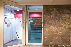HQ Hostel Entry