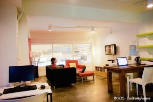 HQ Hostel TV Area