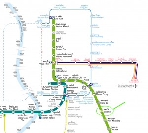 Ekkamai BTS Service Map
