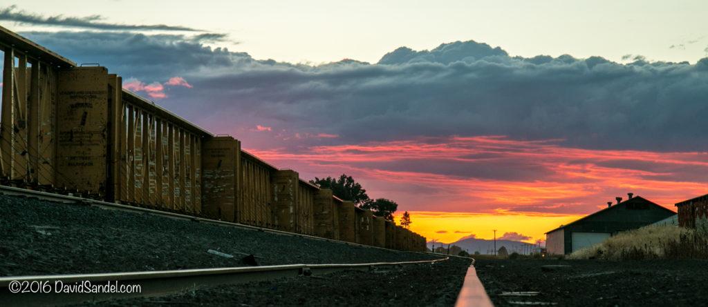Tulelake CA Sunset