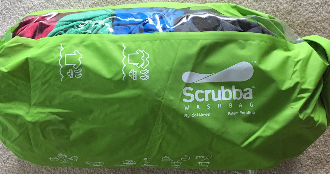 The Scrubba Wash Bag – A washing machine for VanLife and traveling