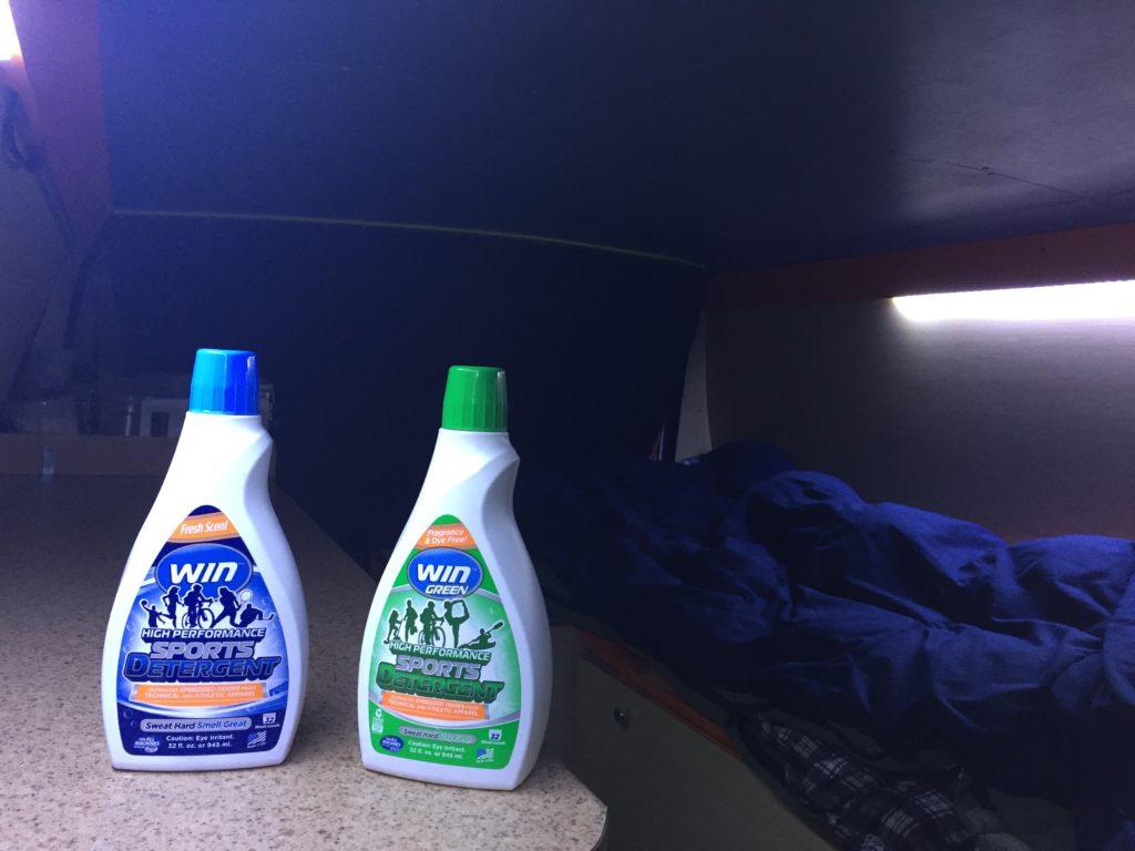 WIN Detergent VanLife